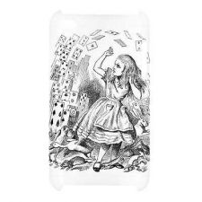Buy Alice In Wonderland Falling Cards Ipod Touch 4th Generation Hard Case