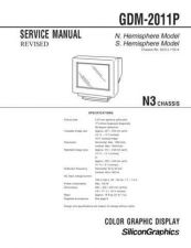 Buy Sony GDM-2011P Service Manual by download Mauritron #240789