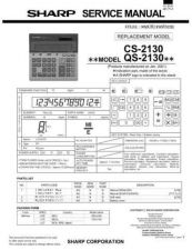 Buy Sharp QS-2130 Technical Information by download Mauritron #233015