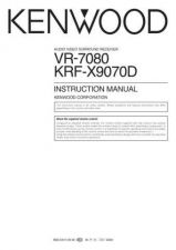 Buy Kenwood VR-707A Operating Guide by download Mauritron #219798