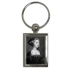 Buy Queen Anne Boleyn Portrait Henry VIII Wife Art Keychain