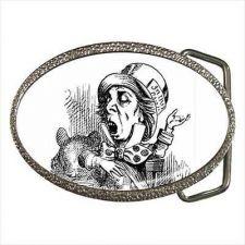 Buy Mad Hatter Alice In Wonderland Art New Belt Buckle