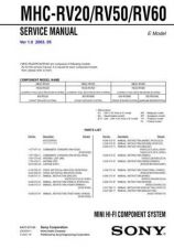 Buy Sony mhc-6700-TAH6700 Service Manual by download Mauritron #244287