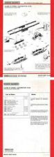 Buy Hornby No.092A Class 37 Service Sheets by download Mauritron #206810