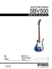 Buy JVC SBV500_E Service Manual by download Mauritron #255323