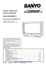 Buy Sony CF-21G24-20G22 Service Manual by download Mauritron #238661