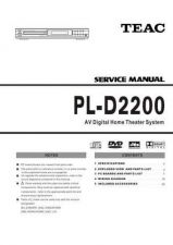 Buy Teac PL-D2200 Service Manual by download Mauritron #223856