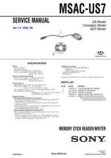 Buy Sony MSAC-US5.. Service Manual. by download Mauritron #242959