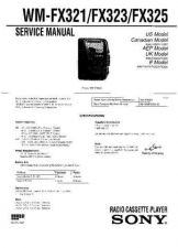 Buy Sony WM-FX321 Service Manual. by download Mauritron #245788
