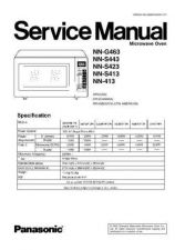 Buy Panasonic NN-H735 Service Manual by download Mauritron #268086