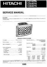 Buy Hitachi C21-F880S SM (SC0016E) Service Manual by download Mauritron #263399