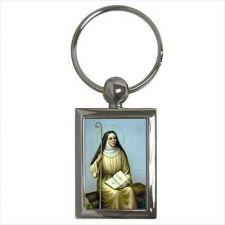 Buy St Monica Patron Saint Of Marriage Key Ring Chain