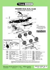 Buy Triang Tri-ang No.059 Chassis R53 R54 R258 Service Sheets by download Mauritron
