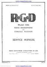 Buy RGD 1046 Service Manual by download Mauritron #230354