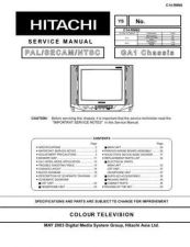 Buy Hitachi C1414T Service Manual by download Mauritron #263363