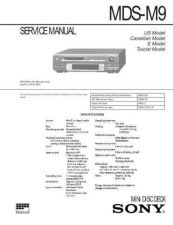 Buy Sony MDS-M100 Service Manual. by download Mauritron #242708