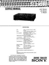 Buy Sony SEQ-V902 Service Manual by download Mauritron #232378