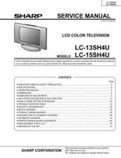 Buy Sharp LC13-15-20E2H-M (1) Service Manual by download Mauritron #209786
