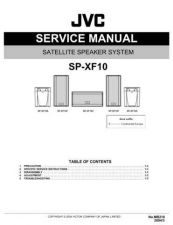 Buy JVC SP-XF10 Service Manual Schematic Circuit. by download Mauritron #272428