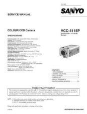 Buy Fisher. Service Manual For VCC-4115P by download Mauritron #217489