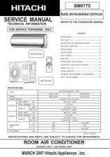 Buy Hitachi R-C- CLU-3841WL Service Manual by download Mauritron #264094