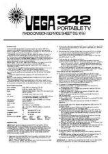 Buy VEGA 342 SERVICE MANUAL by download #109968