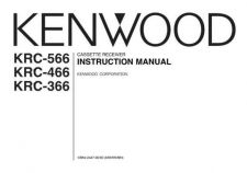 Buy Kenwood KRC-466R Operating Guide by download Mauritron #222618