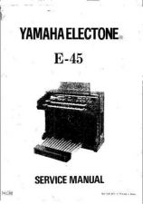 Buy Yamaha E30 SM6 E Manual by download Mauritron #256415
