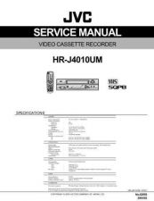 Buy JVC HR-J4010UM Service Manual Schematic Circuit. by download Mauritron #270986