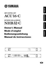 Buy Yamaha ACU16CE Operating Guide by download Mauritron #246660