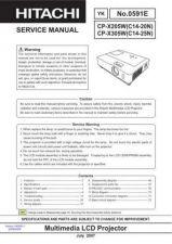 Buy Hitachi CPS225WA (C3S2A) Service Manual by download Mauritron #260887