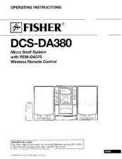 Buy Fisher DC-X5D Service Manual by download Mauritron #215425
