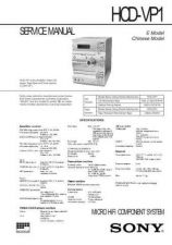 Buy SONY HCD-VX5A Technical by download #104972