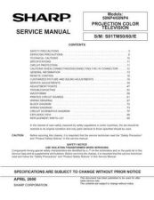 Buy Sharp 50 60NP4 Service Manual by download Mauritron #207821