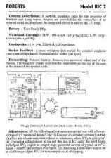 Buy ROBERTS RIC2 SERVICE I by download #106598