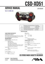 Buy Sony CSDTD30 Service Manual by download Mauritron #239340