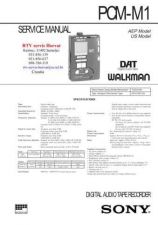 Buy SONY PCMM1 Technical Info by download #104822