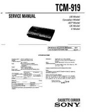 Buy Sony TC-WR720-WR720A Service Manual. by download Mauritron #245539