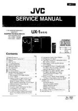 Buy JVC UX1E TECHNICAL INFORMAT by download #105904
