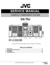 Buy JVC DX-T9J Service Manual by download Mauritron #273151
