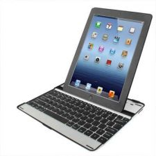 Buy Wireless Aluminium Bluetooth 3.0 Keyboard Case for New iPad