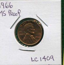 Buy 1966 , Lincoln Memorial GEM Proof Penny