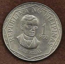 Buy Phillippines 1 Piso 1976 Jose Rizal Coin - Nice!