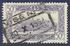 Buy Belgium 1935 Institut de Gravure BRUXELLES TRAIN STAMP