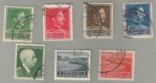 Buy Albania-1930-1939, Scott #'s 250-255, and #301