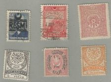 Buy Turkey 6 stamps from 1876, 1886, 1898, 1926, and 1948