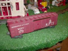 Buy LIONEL POST WAR 6464 MINNEAPOLIS & St LOUIS BOX CAR ALL ORIGINAL VERY NICE