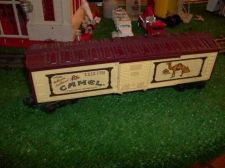 Buy LIONEL TRAINS MODERN ERA 7701 CAMEL BOX CAR ALL ORIGINAL SHARP GRAPHICS