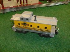Buy LIONEL POST WAR 6657 DENVER & RIO GRANDE CABOOSE ALL ORIGINAL VERY NICE