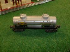 Buy LIONEL POST WAR 2465 SUNOCO 1 DOME TANK CAR ALL ORIGINAL VERY NICE